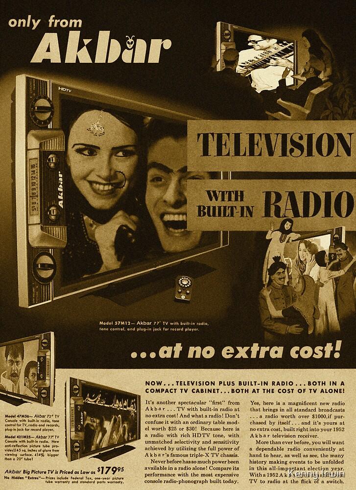 Akbar TV Company [pvt]- Pakistan's best HDTV of 1952 by Kenny Irwin