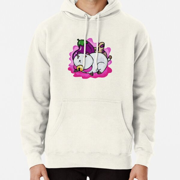 A Chubby Puppycat Pullover Hoodie