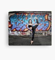 Maddie - Urban Ballerina Shoot 01 Metal Print