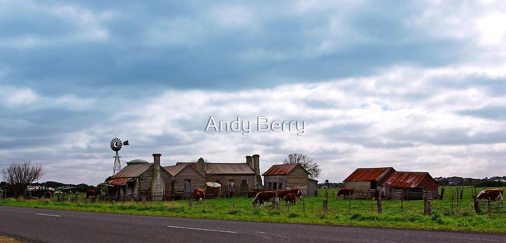 Abandoned farmhouse, Koroit, Victoria, Australia by Andy Berry