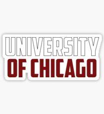 University of Chicago, Illinois Sticker
