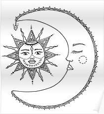 sun//moon Poster