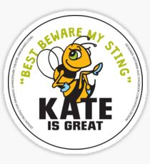 The Arkshakes Collection: Kate Button Sticker