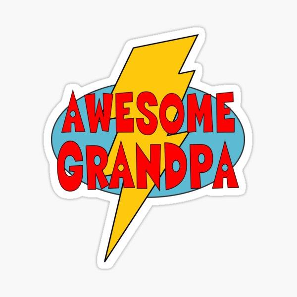 Awesome Grandpa Sticker
