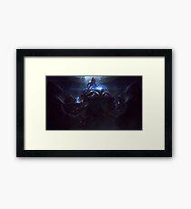 Championship Zed Framed Print