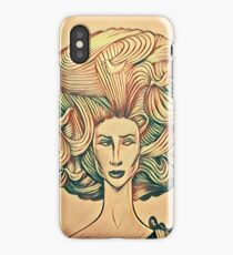 Afro high light iPhone Case/Skin