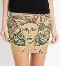Afro high light Mini Skirt