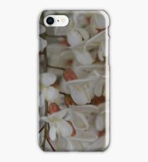 Flowers of a black locust iPhone Case/Skin