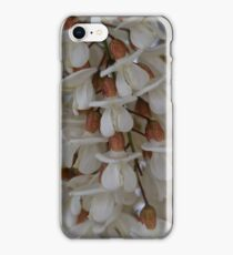 Flowers of a black locust (Robinia pseudoacacia) iPhone Case/Skin