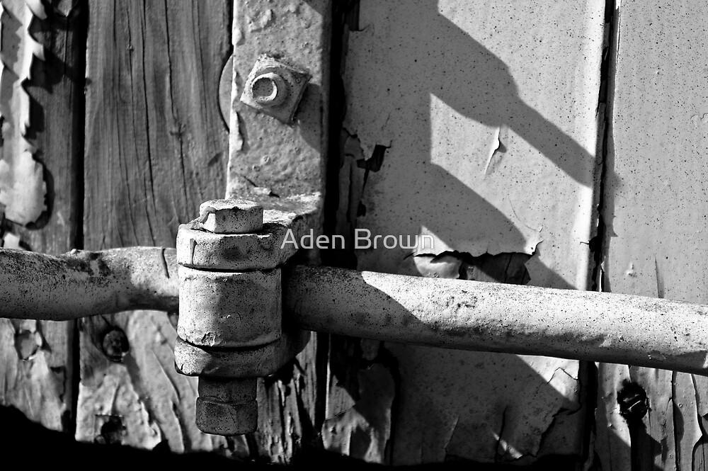 Old Door Lever by Aden Brown
