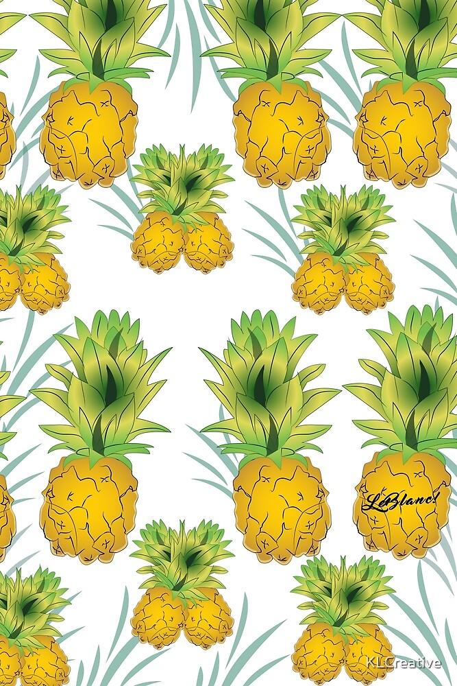Summer Goodies ft. Orginal Pineapple Pattern by KLCreative