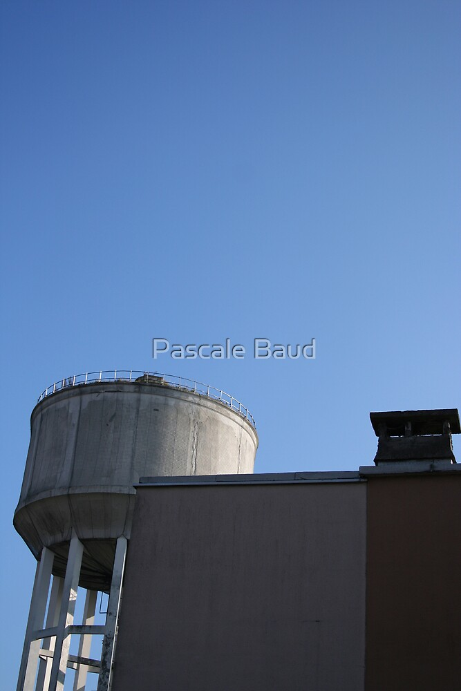 Water tower by Pascale Baud