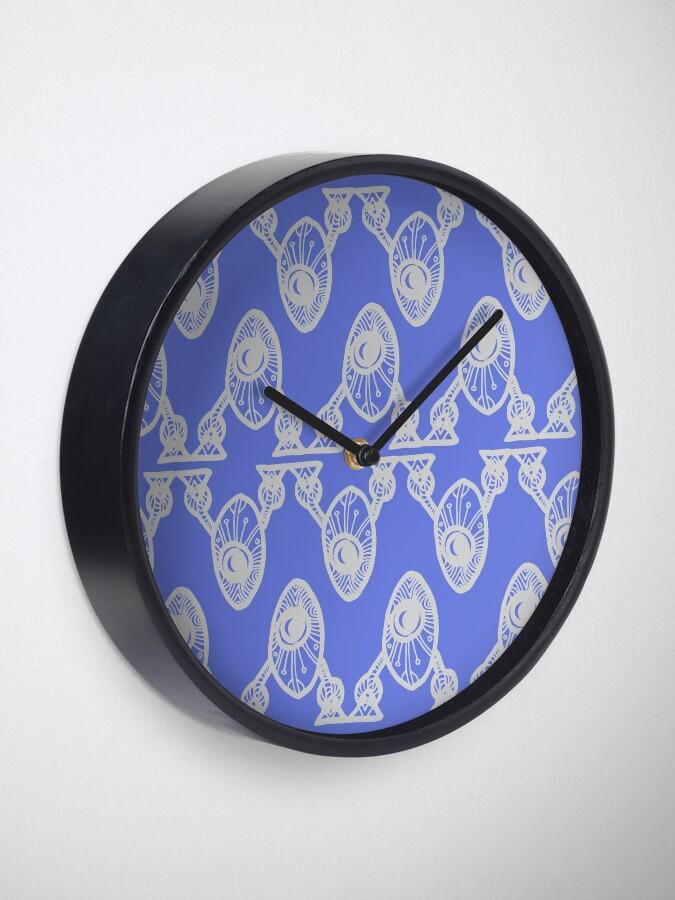 Alternate view of Robots Clock