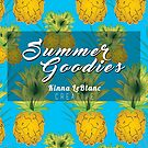 """Summer Goodies"" ft. Orginal Pineapple Pattern by KLCreative"
