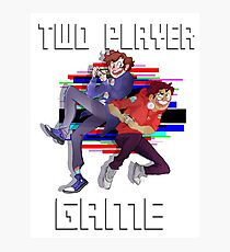 Two Player Game Photographic Print