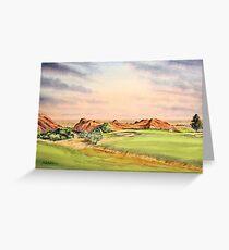Arrowhead Golf Course Hole 3 Greeting Card