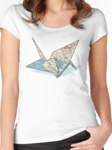 Roadmap for Peace Women's Fitted Scoop T-Shirt