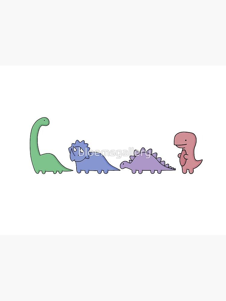 Ilustraciones de dinosaurios de bloemsgallery