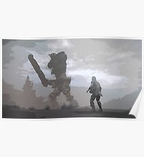Shadow of the Colossus poster Poster