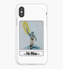 He-Man - He-Man - Trading Card Design iPhone Case/Skin