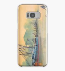 Tarpon Springs Florida - Sponge Docks Samsung Galaxy Case/Skin