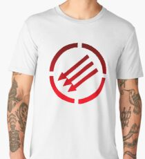 Antifascist arrows Men's Premium T-Shirt