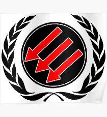 Antifascist laude Poster