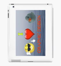 I Love Graphic Design iPad Case/Skin