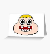 Pixel Clarence Greeting Card
