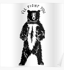 Don't Fight Bears  Poster