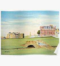 St Andrews Golf Course Scotland - R&A Poster