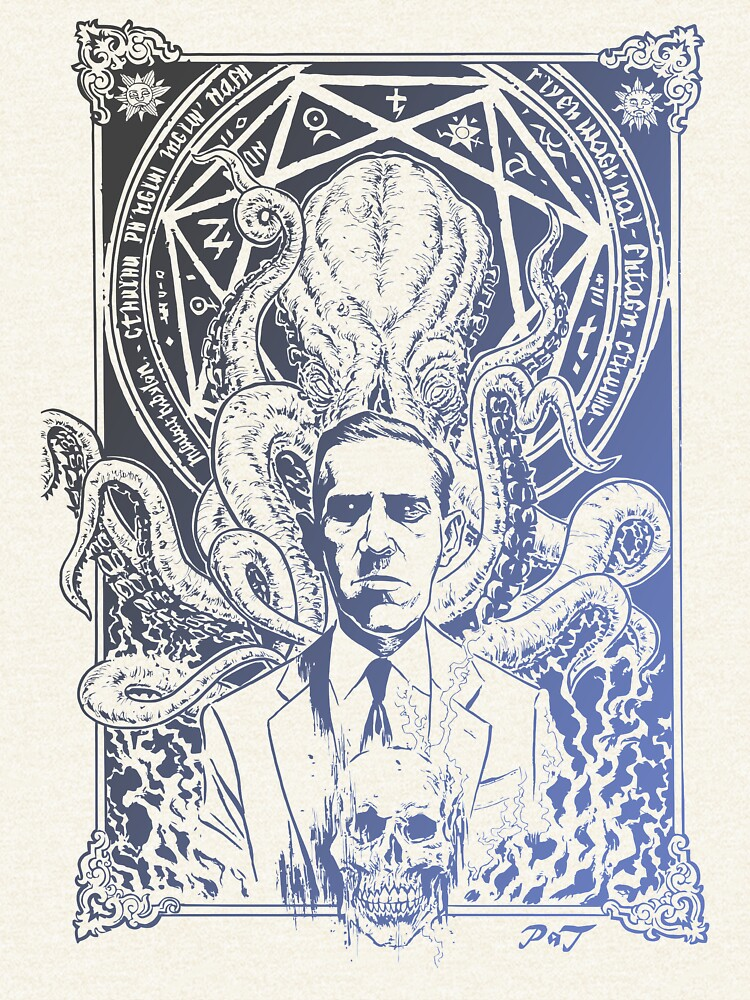Lovecraft Cthulhu by 7owls