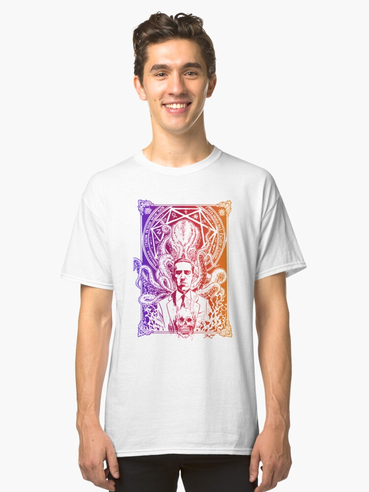 Lovecraft Cthulhu Classic T-Shirt Front