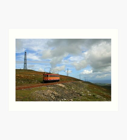 Snae Fell Mountain Railway Art Print
