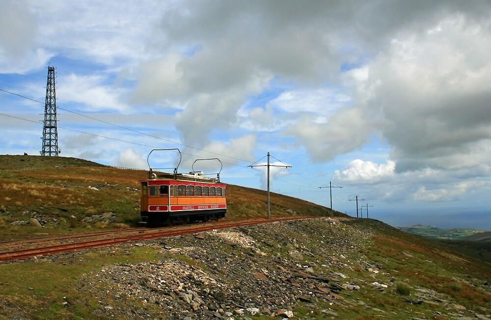 Snae Fell Mountain Railway by RedHillDigital