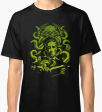 Lovecraft Cthulhu Electric Green Classic T-Shirt