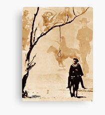 The Hangman's Tree Canvas Print
