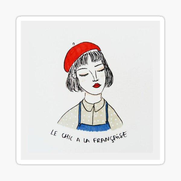 Le chic à la Française Sticker