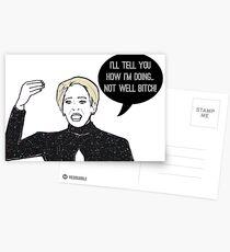 Not Well Postcards