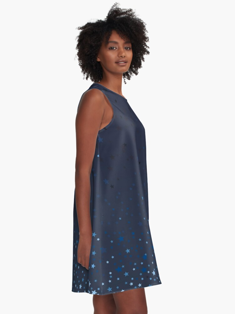Alternate view of Starry Night A-Line Dress