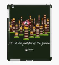 p53, the guardian of the genome iPad Case/Skin