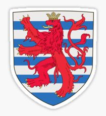 Luxembourg City coat of arms Sticker