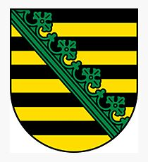 Saxony Coat Of Arms Photographic Print
