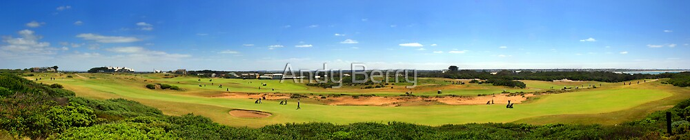 Barwon Heads Golf Club, Victoria, Australia by Andy Berry
