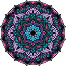 Purple Mandala by Christina McEwen