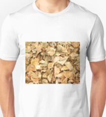 Texture of dry leaves T-Shirt