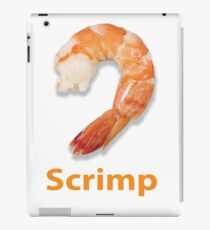 Scrimp iPad Case/Skin