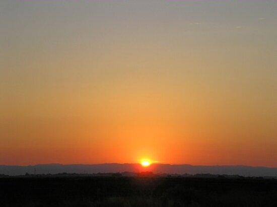 Firey Red Sunrise by Lenny La Rue, IPA