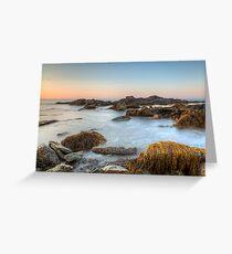 Sunrise Seascape at Sachuest Wildlife Refuge Greeting Card