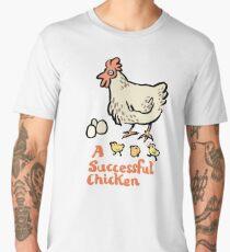 a successful chicken Men's Premium T-Shirt